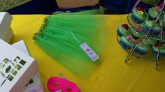 Plain Bright green tutu