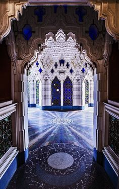 Sammezzano, or the Castle of Sammezzano, is an Italian palazzo in Tuscany notable for its Moorish Revival architectural style. It is located in Leccio, a hamlet of Reggello, in the Province of Florence.