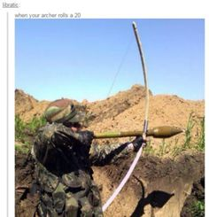 Tactical arrows is the future