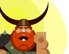 "Check out new work on my @Behance portfolio: ""Viking funy"" http://on.be.net/1QTH0fM"