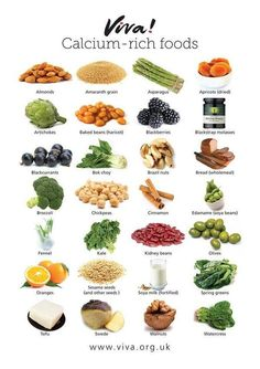 Calcium-rich food
