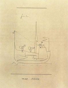 Paul Klee - Schule boot