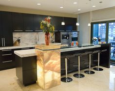 Contemporary Onyx Countertops Design, Pictures, Remodel, Decor and Ideas - page 5
