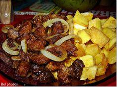 Carne de sol com mandioca -  Série: Meu Brasil... perfeitooooo