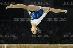 Pan American Games, Toronto, Canada - 15 Jul 2015 Flavia Saraiva Lopes of Brazil competes during the artistic gymnastics beam 15 Jul 2015