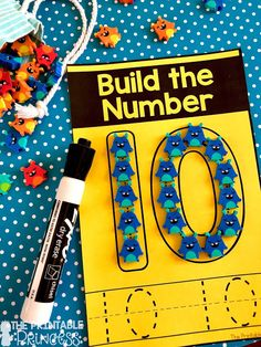 Click through to find a Numbers to 10 Assessment FREEBIE and activities that are just perfect for Kindergarten and PreK. In this post you'll find the assessment for numbers to 10 freebie, counting activities, whole group games, math centers, and much more! Activities are year round so use them for back to school or throughout the year. All perfect for the lower primary, Pre-K, and Kindergarten classroom.
