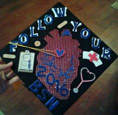 Nursing Graduation, Graduation Caps, Grad Cap, Cap Ideas, Degree In Nursing