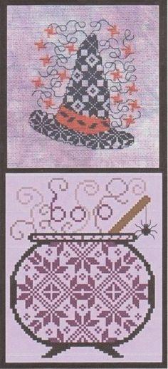 Halloween Magic - Cross Stitch Pattern