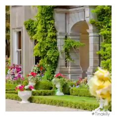 #Tinakilly  #CountryHouseHotel Country House Hotels, Irish Sea, Acre, 19th Century, Outdoor Structures, Mansions, Garden, Plants, Wedding