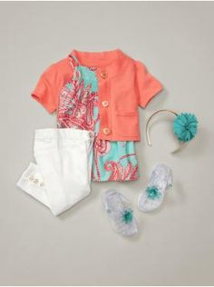 baby Gap ...Tropical Summer Outfit