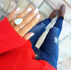 Love this outfit and ring