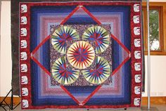 Elephant quilt | Flickr - Photo Sharing!