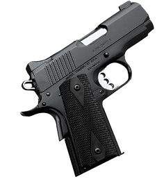 Kimber Ultra Carry II .45 cal The gun that will be in my possession pretty soon! don't mess with this momma! ;)