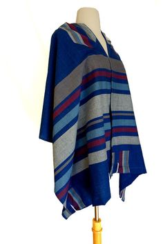 Dror Tallit by AdvahDesigns on Etsy Hebrew Words, Prayer Shawl, Handmade Bags, Hand Weaving, Etsy Seller, Clothes For Women, Cotton, Inspiration, Shopping