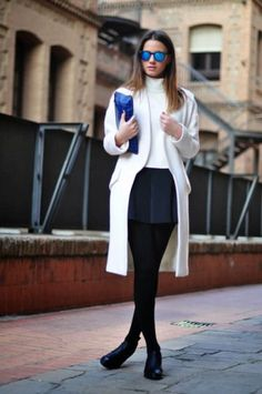Best Outfit Ideas For Fall And Winter  Winter Tights Outfits | StyleCaster