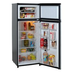 Kenmore 71215 21 cu. ft. Top-Freezer Refrigerator w/ Ice Maker 1 ...