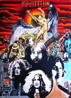 Led Zeppelin Swan Song Art Print $10.00