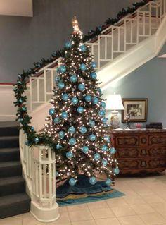 Zeta Tau Alpha Christmas tree   #ZTA #ZetaTauAlpha