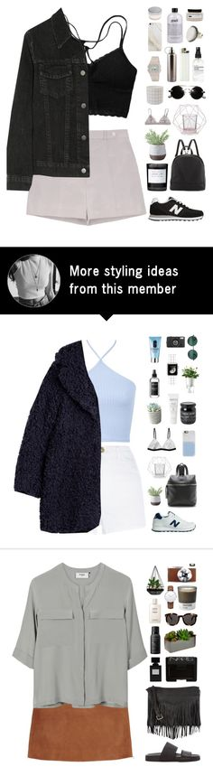 """Dusk pink"" by f-resh on Polyvore featuring Rochas, Bloomingville, J Brand, New Balance, Poverty Flats, Byredo, Torre & Tagus, People Tree, philosophy and Samsung"