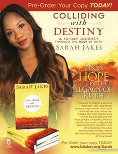 Book Sarah Jakes.