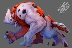 ArtStation - Kaiju Hunter - Charac' Design - Gameloft (canceled project), Alexandre Chaudret
