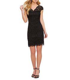 Jump Scalloped Lace Dress