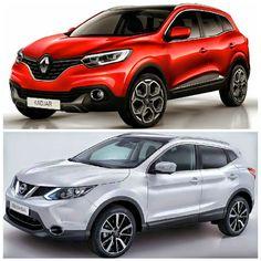 Renault Kadjar - Nissan Qashqai Karşılaştırması (Comparison) #RenaultKadjar #NissanQashqai