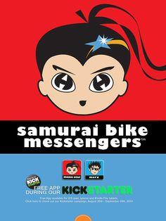 Samurai Bike Messengers: smart girls, smart stories