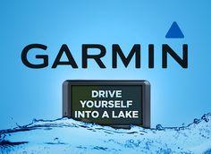 Garmin honest slogan