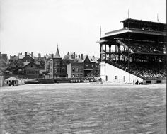 100 years ago: What Forbes Field looked like down the RF line. pic.twitter.com/7hU7IAFxlJ