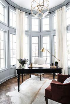 Kildeer Office - Park and Oak Interior Design