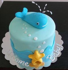 This Was A Cake For Friend Of Mine Baby Shower cakepins.com