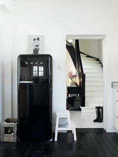 Deze koelkast wil ik wel in de keuken :-)