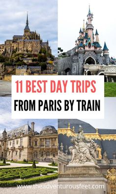 11 Best day trips from Paris by train - The adventurous feet Paris France Travel, Paris Travel Guide, Europe Travel Tips, European Travel, Travel Jobs, Travel Guides, Europe Destinations, Backpacking Europe, Cool Places To Visit