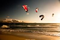Learn to Kitesurf lessons kite school kiteboarding in Blouberg, Cape Town, South Africa with professional IKO Kite Surf instructors. Kite School, Beach House, Surfing, Places To Visit, Africa, Summer, Beach Homes, Summer Time, Surf