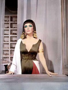 Elizabeth Taylor en 'Cleopatra'