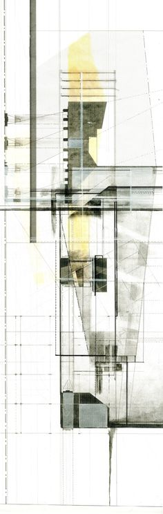 Architectural Drawing by   Miguel Castaneda