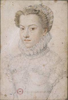 Elizabeth Austria françois clouet