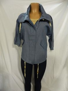 NWT Wesc Ladies Jacket deep sea blue Size L  $92.99 INV#0088 #WeSC #BasicJacket