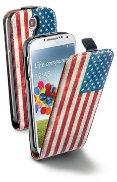 #AMERICA #USA La protezione totale della #cover #flap, senza rinunciare ad un tocco trendy e colorato! Scoprila sul nostro sito: http://www.cellularline.com/catalog/it/product/flap_flag_for_galaxy_s4
