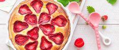 35 perc alatt kész a kevert epres süti – Kezdők is bátran megsüthetik - Receptek | Sóbors Pepperoni, Pizza, Food, Yogurt, Hoods, Meals