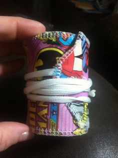 Crossfit style wrist wraps Wonder Woman  on Etsy, $23.00
