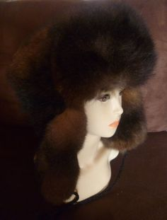3d82024cdf4 Details about New Zealand Possum Fur Man s Bush Hat (Fur Outside) - Natural  Brown