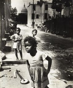 """Marion Palfi - """"In the Shadow of the Capitol"""" (from """"Radical Camera"""" exhibit @ Jewish Museum, NYC)"""