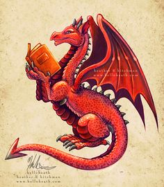 Welsh Dragon by *helloheath on deviantART Red Dragon, Dragon Art, Fantasy Love, Fantasy Art, Magical Creatures, Fantasy Creatures, Dungeons And Dragons, Welsh Dragon, Year Of The Dragon