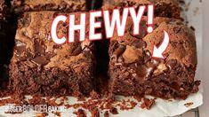 Chewy Brownies, Blondie Brownies, Brownie Recipes, Cookie Recipes, Bigger Bolder Baking, Whoopie Pies, Something Sweet, Melting Chocolate, Baked Goods