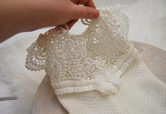 Newborn Romper, Lace Romper, Newborn Props, Newborn Photo Props, Baby Girl Romper, Lace Outfit, Baby Romper, Baby Prop, Ivory, code 109 Amazing newborn girl romper, ivory color. The bottom part is made of soft, stretchy knit fabric with beautiful texture. The top is made of