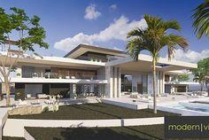 The Abidjan House Villa Design, House Design, Walk In Freezer, Panic Rooms, Luxury Homes Dream Houses, Cinema Room, Interior Garden, Beautiful Bathrooms, House Prices