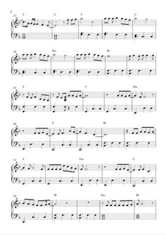can anybody find me somebody to love piano sheet music Note-for-note piano transcriptions of the keyboard track in pop free piano sheet music can't find what you need you'll love his piano track on roll me away.
