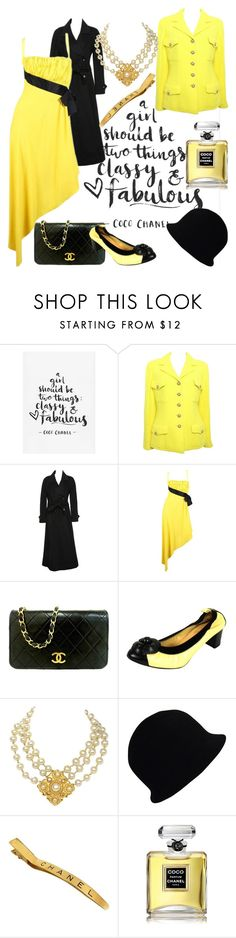 """""""coco chanel"""" by miha-jez ❤ liked on Polyvore featuring Chanel"""
